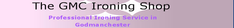 GMC Huntingdon Ironing Services